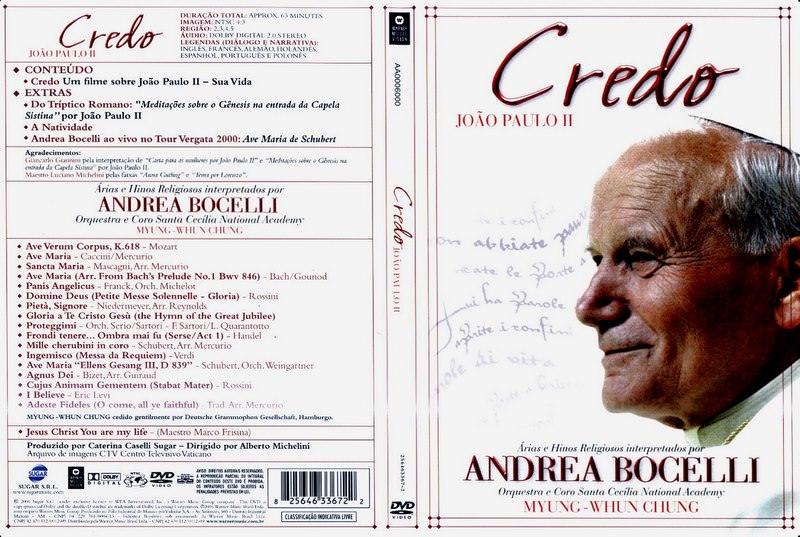 Andrea Bocelli — Credo: John Paul II